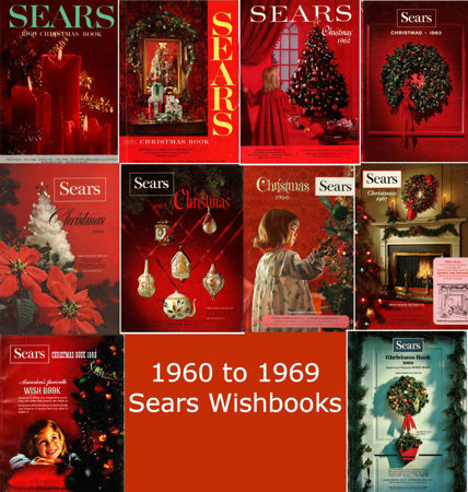 Picture for category 1960-1969 Sears Christmas Books