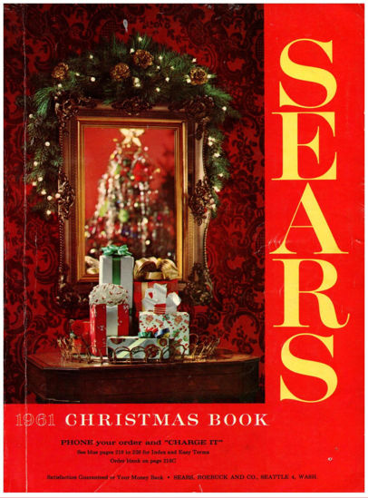 Picture of 1961 Sears Christmas Book (digital download)