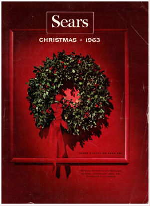 Picture of 1963 Sears Christmas Book (digital download)