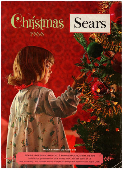 Picture of 1966 Sears Christmas Book (digital download)