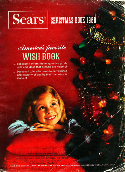 Picture of 1968 Sears Christmas Book (digital download)