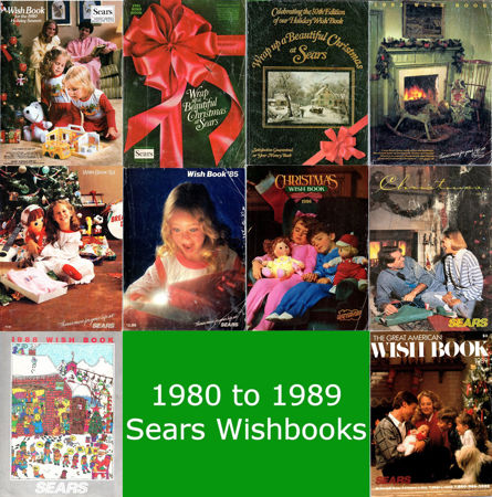 Picture for category 1980-1989 Sears Christmas Books