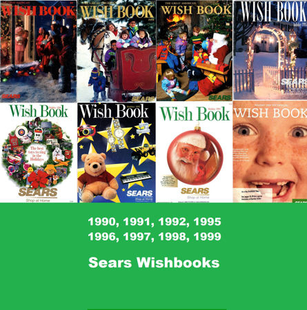 Picture for category 1990-1999 Sears Christmas Books