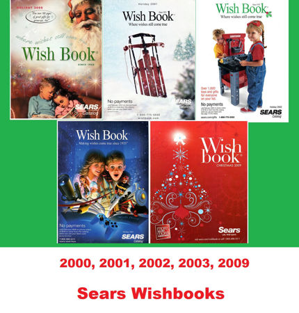 Picture for category 2000-2009 Sears Christmas Books