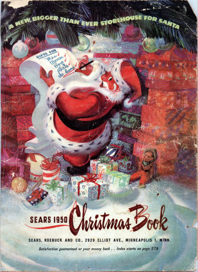 Picture of 1950 Sears Christmas Book (digital download)