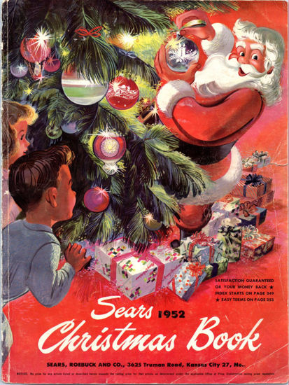Picture of 1952 Sears Christmas Book (digital download)