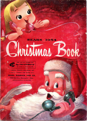 Picture of 1954 Sears Christmas Book (digital download)
