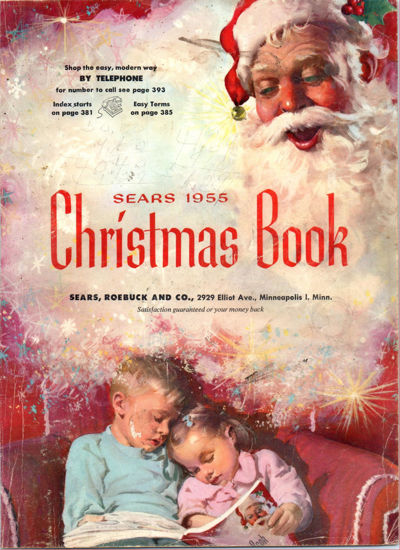 Picture of 1955 Sears Christmas Book (digital download)