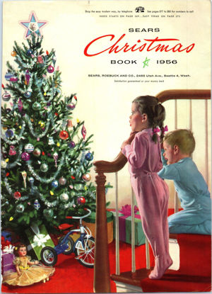 Picture of 1956 Sears Christmas Book (digital download)