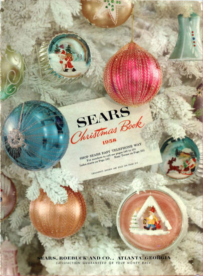 Picture of 1958 Sears Christmas Book (digital download)