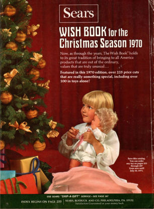 Picture of 1970 Sears Christmas Book (digital download)