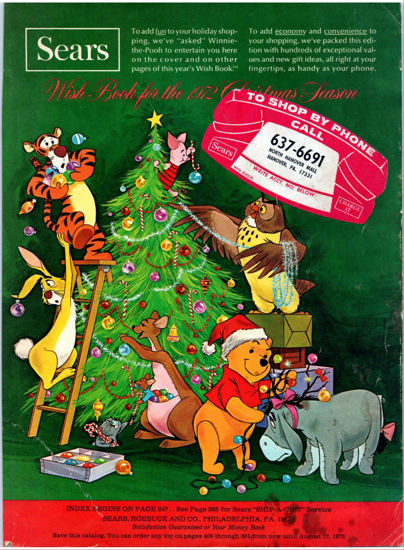 Picture of 1972 Sears Christmas Book (digital download)
