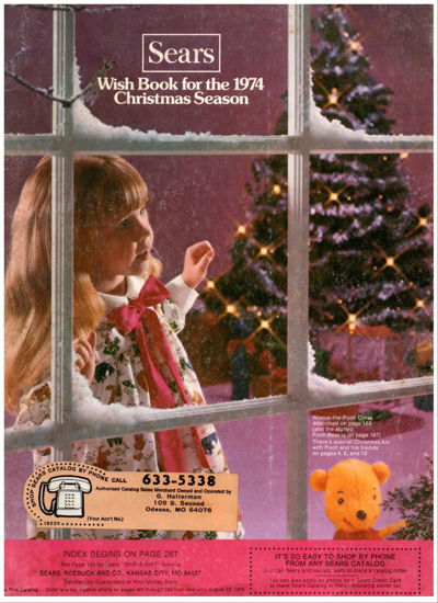 Picture of 1974 Sears Christmas Book (digital download)