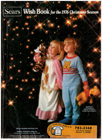 Picture of 1976 Sears Christmas Book (digital download)
