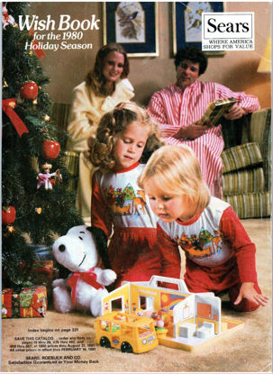 Picture of 1980 Sears Christmas Book (digital download)