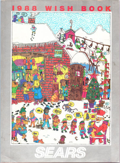 Picture of 1988 Sears Christmas Book (digital download)