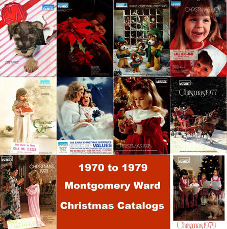 Picture for category 1970-1979 Montgomery Ward Christmas Books