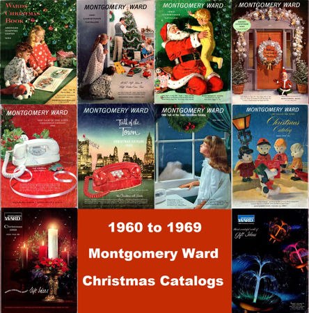 Picture for category 1960-1969 Montgomery Ward Christmas Books