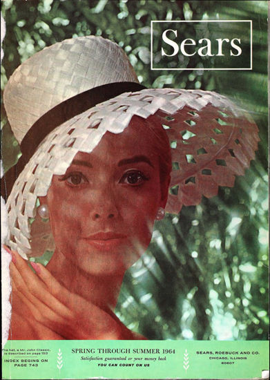 Picture of 1964 Sears Spring Summer Catalog (digital download)