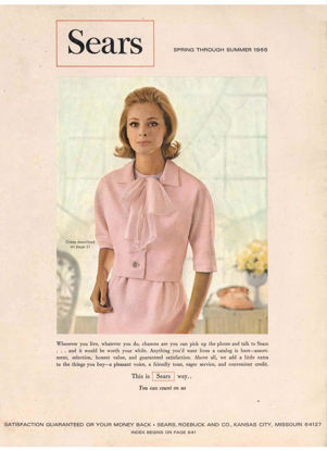 Picture of 1965 Sears Spring Summer Catalog (digital download)