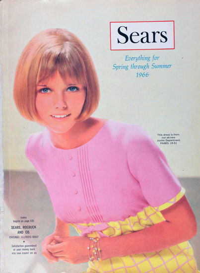 Picture of 1966 Sears Spring Summer Catalog (digital download)