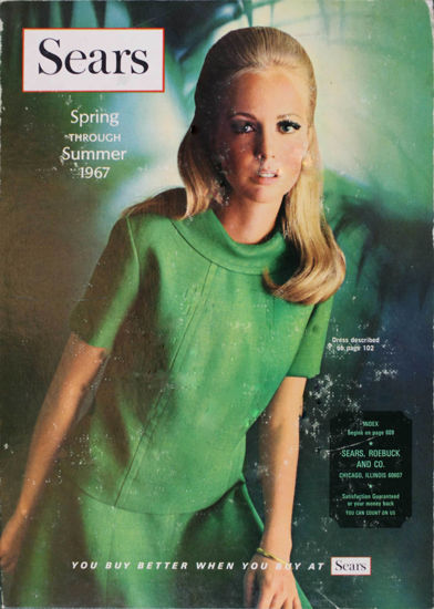 Picture of 1967 Sears Spring Summer Catalog (digital download)