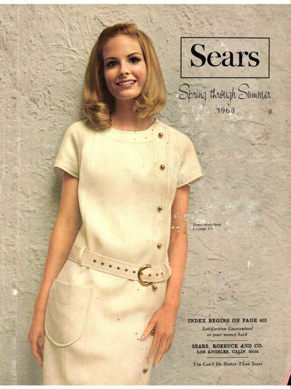 Picture of 1968 Sears Spring Summer Catalog (digital download)