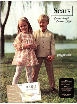 Picture of 1969 Sears Spring Summer Catalog (digital download)