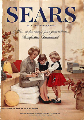 Picture of 1960 Sears Fall Winter Catalog (digital download)