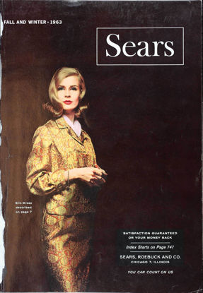 Picture of 1963 Sears Fall Winter Catalog (digital download)