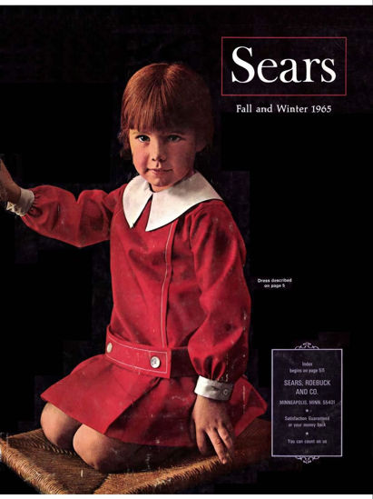 Picture of 1965 Sears Fall Winter Catalog (digital download)