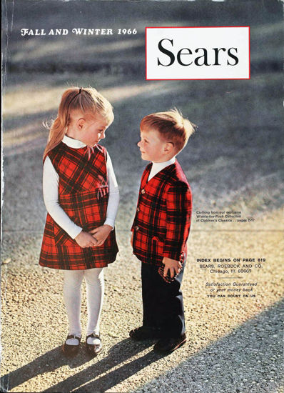 Picture of 1966 Sears Fall Winter Catalog (digital download)