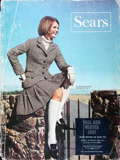 Picture of 1967 Sears Fall Winter Catalog (digital download)