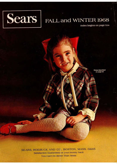 Picture of 1968 Sears Fall Winter Catalog (digital download)