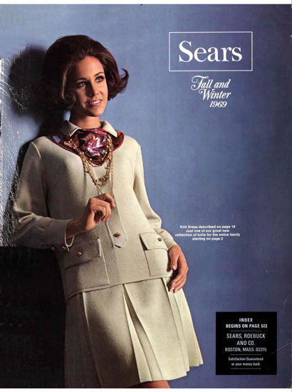 Picture of 1969 Sears Fall Winter Catalog (digital download)