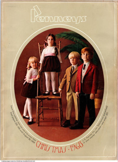 Picture of 1968 JCPenney Christmas Book (digital download)