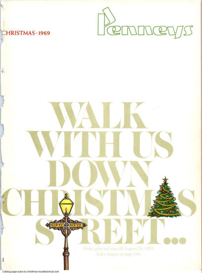Picture of 1969 JCPenney Christmas Book (digital download)