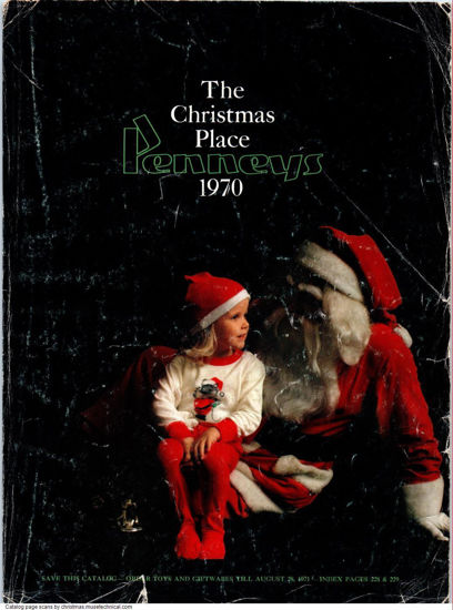 Picture of 1970 JCPenney Christmas Book (digital download)