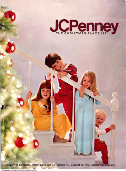 Picture of 1971 JCPenney Christmas Book (digital download)