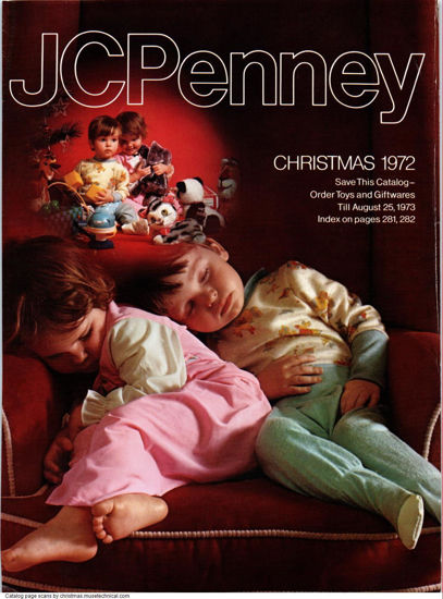 Picture of 1972 JCPenney Christmas Book (digital download)