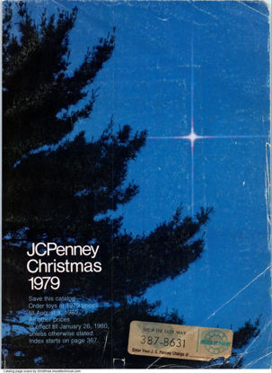 Picture of 1979 JCPenney Christmas Book (digital download)