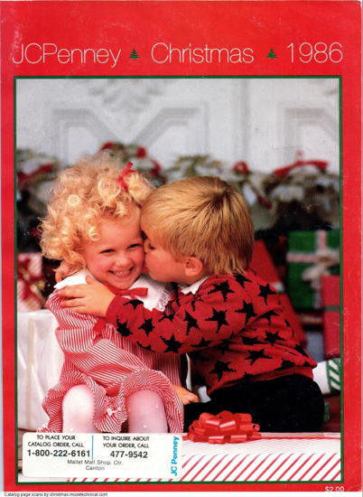 Picture of 1986 JCPenney Christmas Book (digital download)