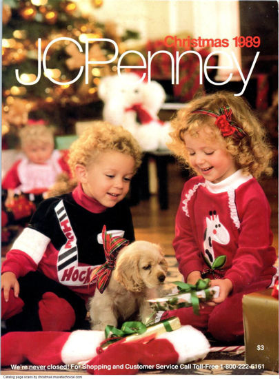 Picture of 1989 JCPenney Christmas Book (digital download)