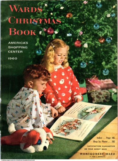 Picture of 1960 Montgomery Ward Christmas Book (digital download)