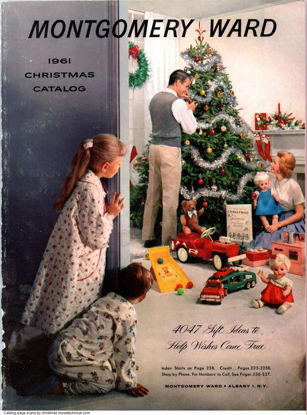 Picture of 1961 Montgomery Ward Christmas Book (digital download)