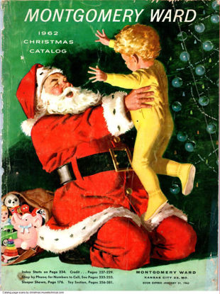 Picture of 1962 Montgomery Ward Christmas Book (digital download)
