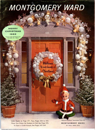 Picture of 1963 Montgomery Ward Christmas Book (digital download)