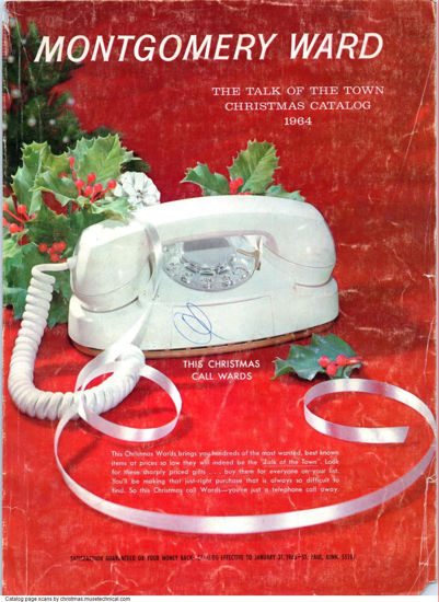 Picture of 1964 Montgomery Ward Christmas Book (digital download)