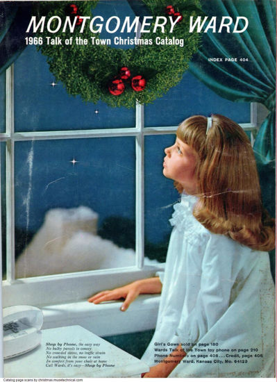 Picture of 1966 Montgomery Ward Christmas Book (digital download)