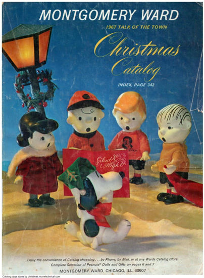 Picture of 1967 Montgomery Ward Christmas Book (digital download)